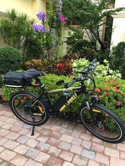 EZ Rider Electric assisted bike.21 speeds 48 v 500 watt comf