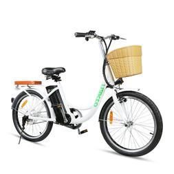 "NAKTO Electric Bicycle 22"" Cargo Electric Bike with 250W36V1"