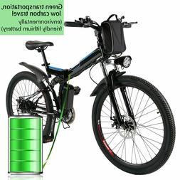 Ancheer Electric Bicycle 26'' Electric Mountain Bike Adult 2
