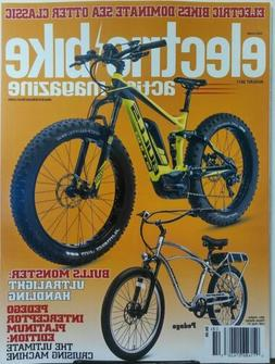 Electric Bike Action Magazine August 2017 Bulls Monster Pede