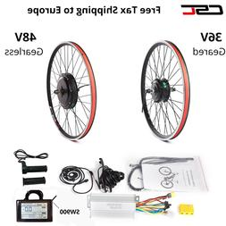 Electric Bike Conversion Kit 36V 48V  20-29inch 700C ebike M