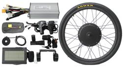 Hallomotor 48V 1500W Rear Wheel Ebike Conversion Kit  Elcetr