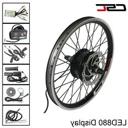 electric bike Motor wheel 36V 350W Conversion Kit LED Displa
