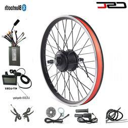 Electric Bike Motor Wheel Conversion Kit 36V 250W 350W 500W