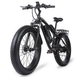 Electric Bike Mountain Bike 1000W 48V17AH Bike 26 Inch Men's