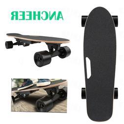 ANCHEER Electric Skateboard Wireless Remote Control Dual Mot