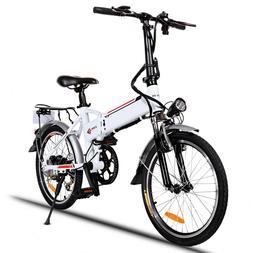 Folding 20 Inch Electric Bike E-bike City Mountain Bicycle E