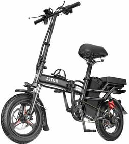 Folding Electric Bike 350W City Commuter Ebike 14 Inch Elect