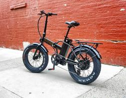 Folding Electric FAT Tire Bike with 500 Watt Motor and 48v -