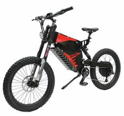 Electric Bicycle Ebike 72V 5000W FC-1 Stealth Bomber Mountai