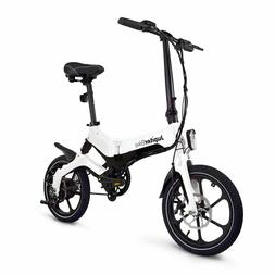 Jupiter Bike Discovery Folding Pedal Assist Electric Bike by
