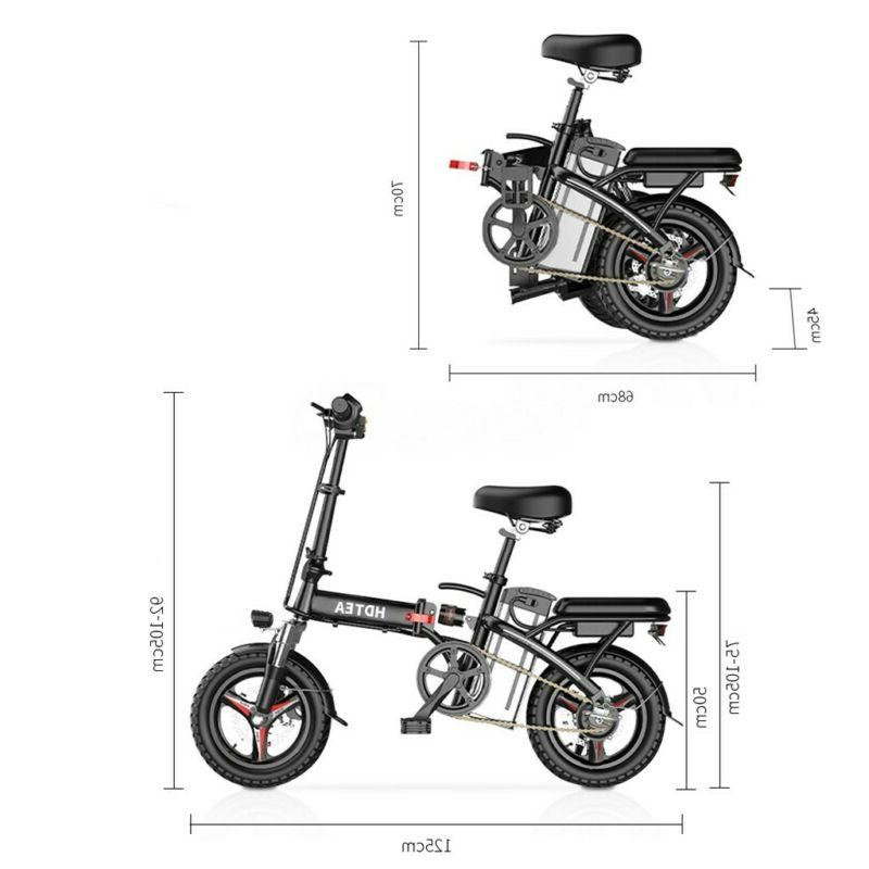 14'' Electric Commuter City 48V Lithium-ion Battery