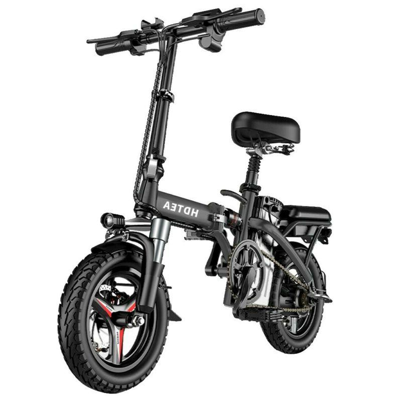 Folding Electric Bike,48V 14inch Electric Bike Suitable For