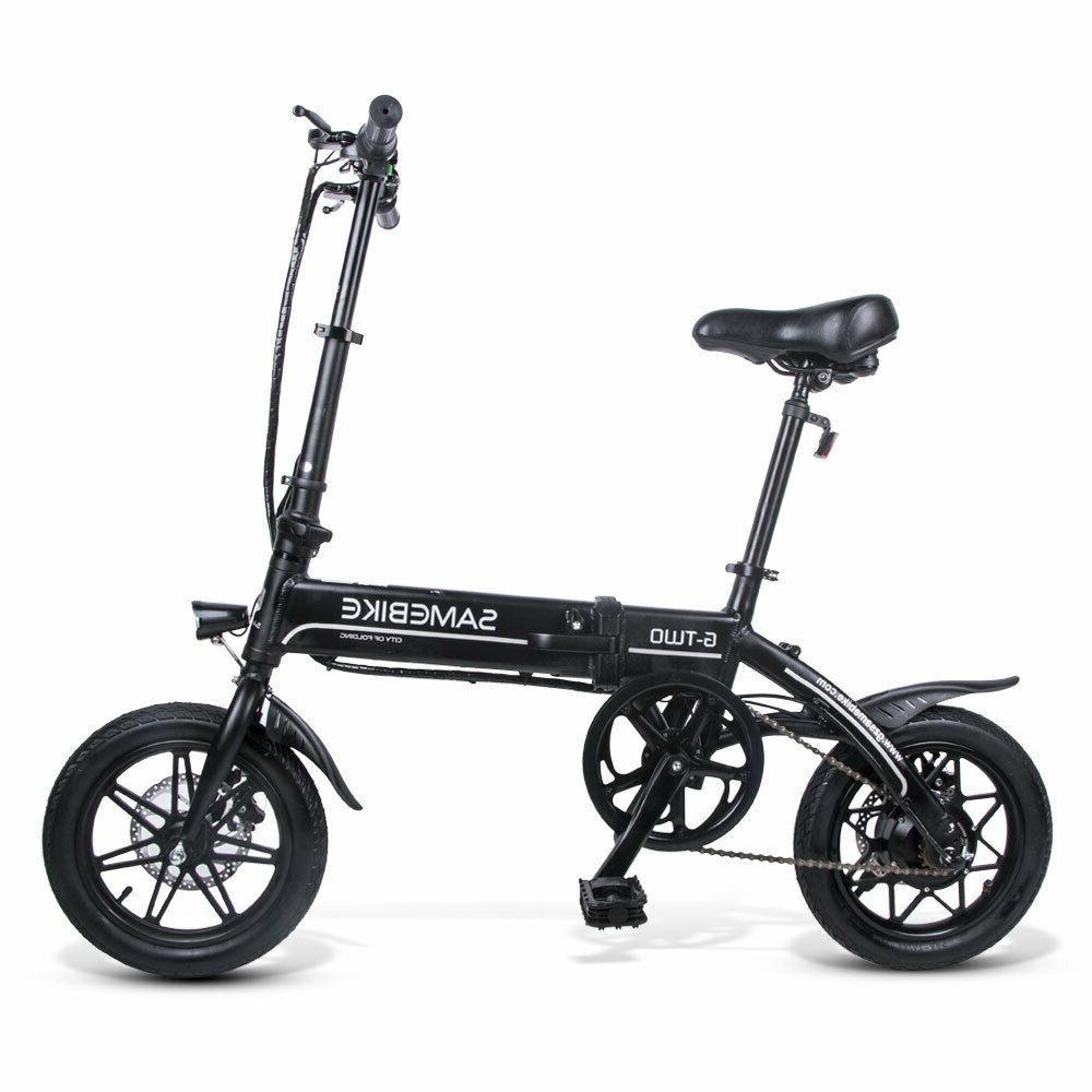 14'' Electric Portable Smart Moped Kids Black