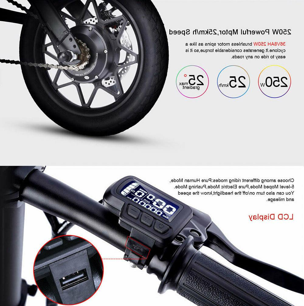 14'' Portable Smart Moped Kids