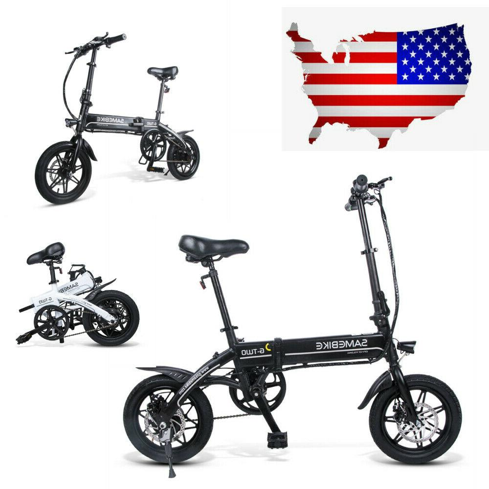 14 folding electric bicycle portable 250w smart