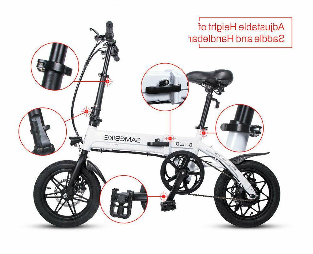 14'' Portable 250W Kids E-Bike