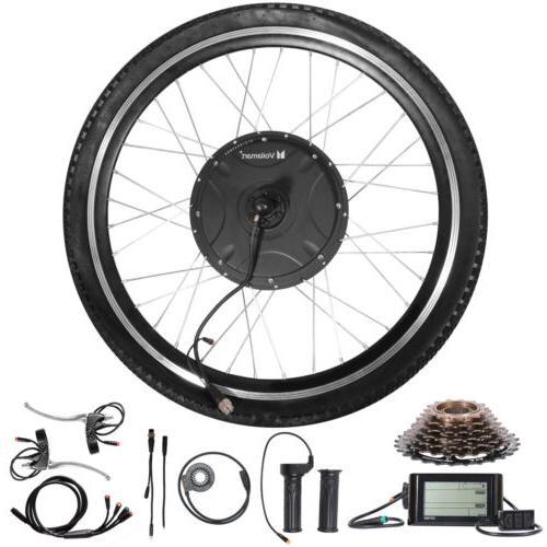 48V 1500W Rear Wheel Electric Bicycle Motor Conversion Kit E