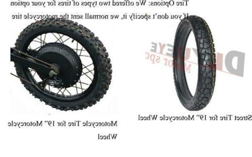 "19"" Motorcycle Wheel"