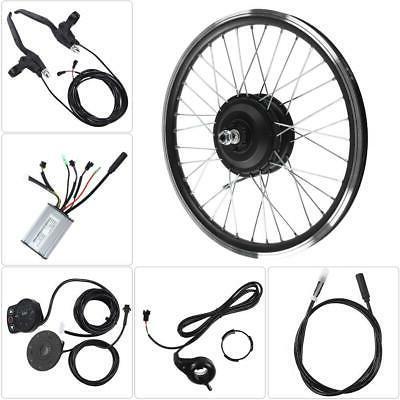 350W/36-48V Electric Ebike Conversion Kit Rear Hub Wheel