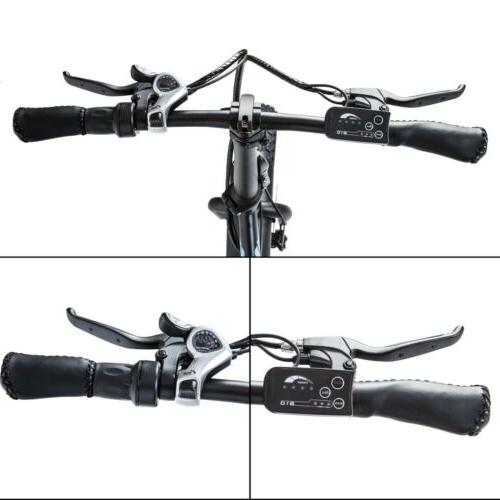 """ECOTRIC 20"""" Folding Bicycle e-Bike Fat tire Pedal"""