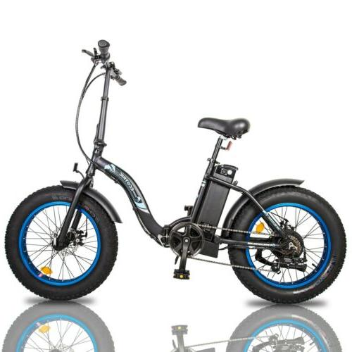 """ECOTRIC 20"""" Folding Bicycle Fat Assist"""