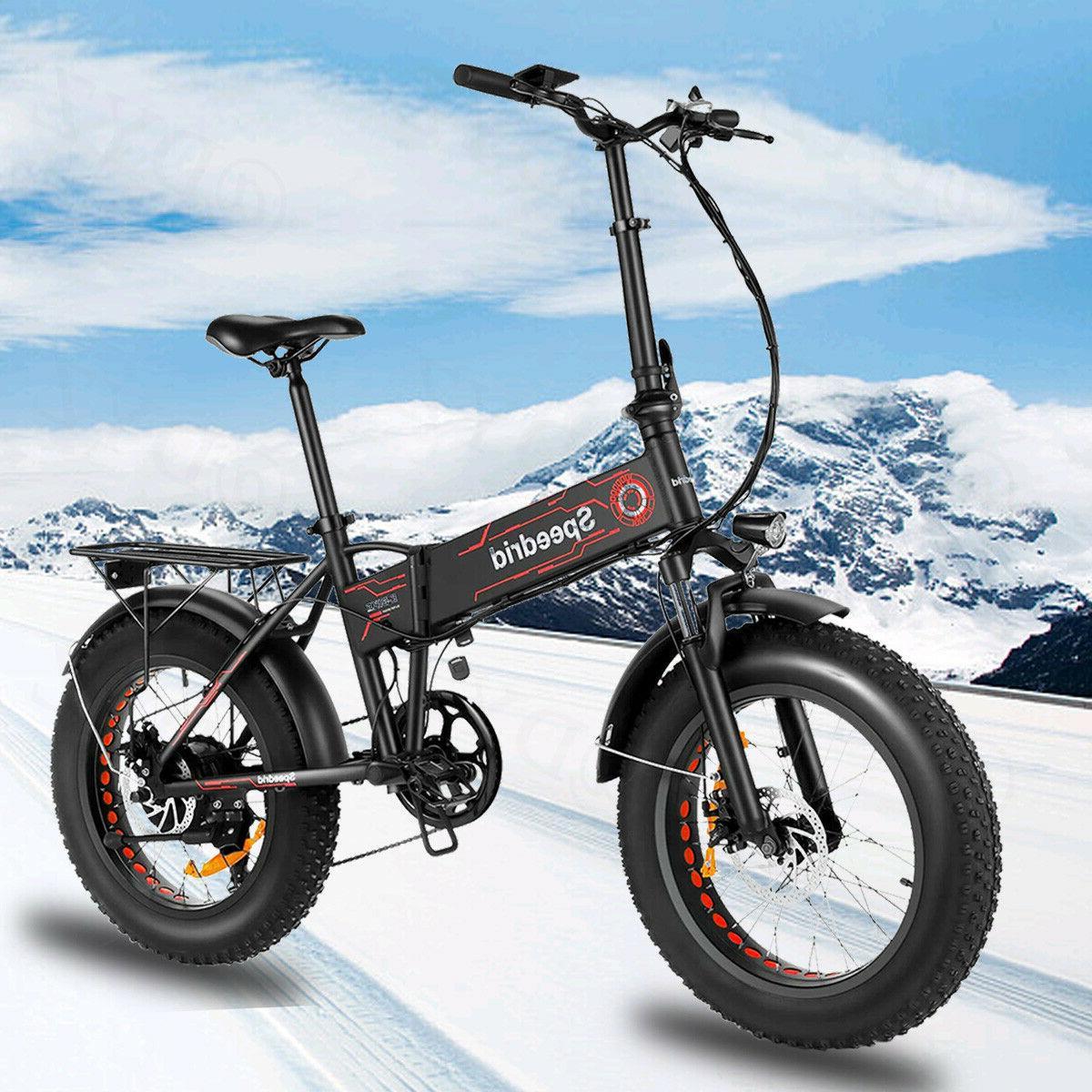 20inch 500w electric bike folding fat tire