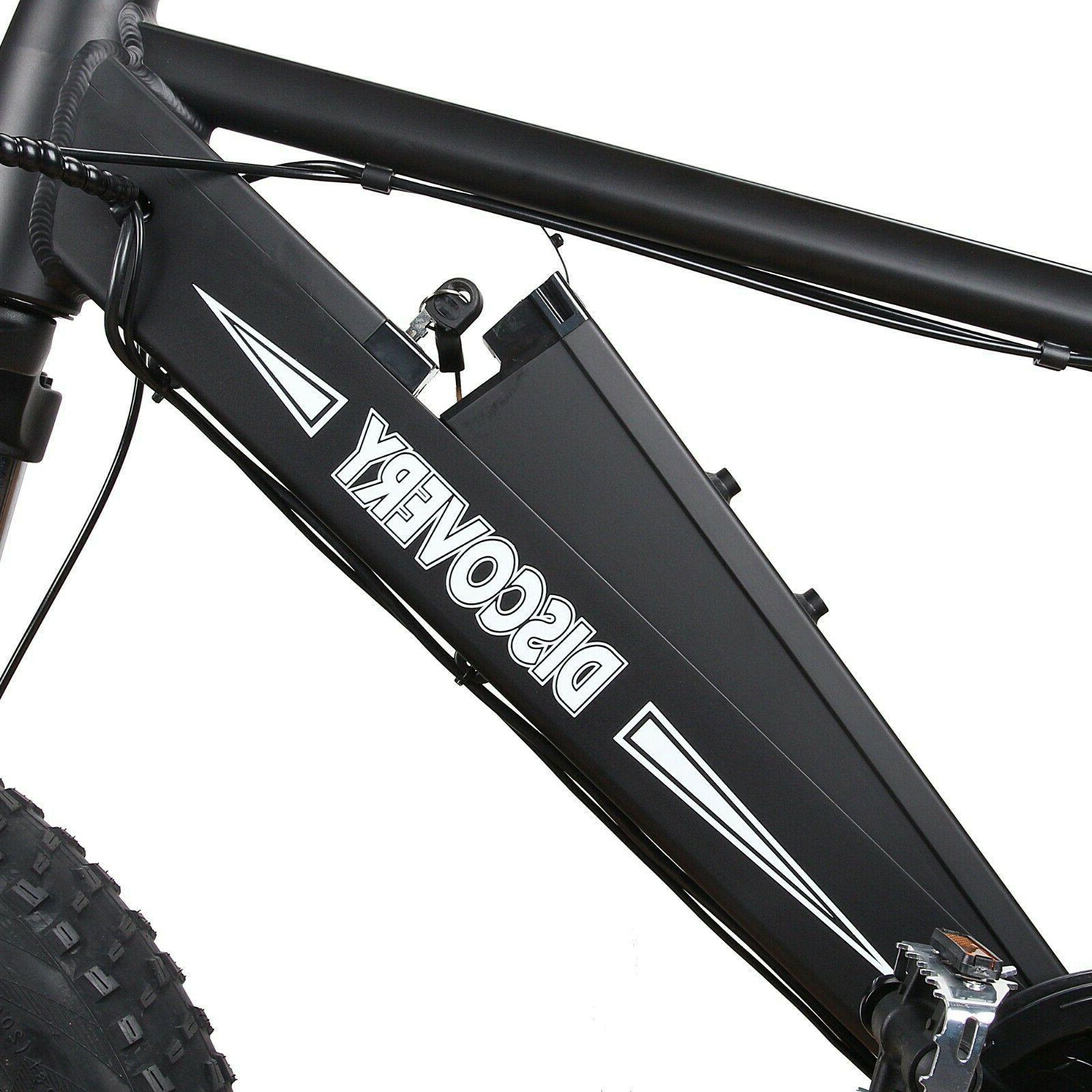 NAKTO Electric Montain E-Bike Li-Battery 6