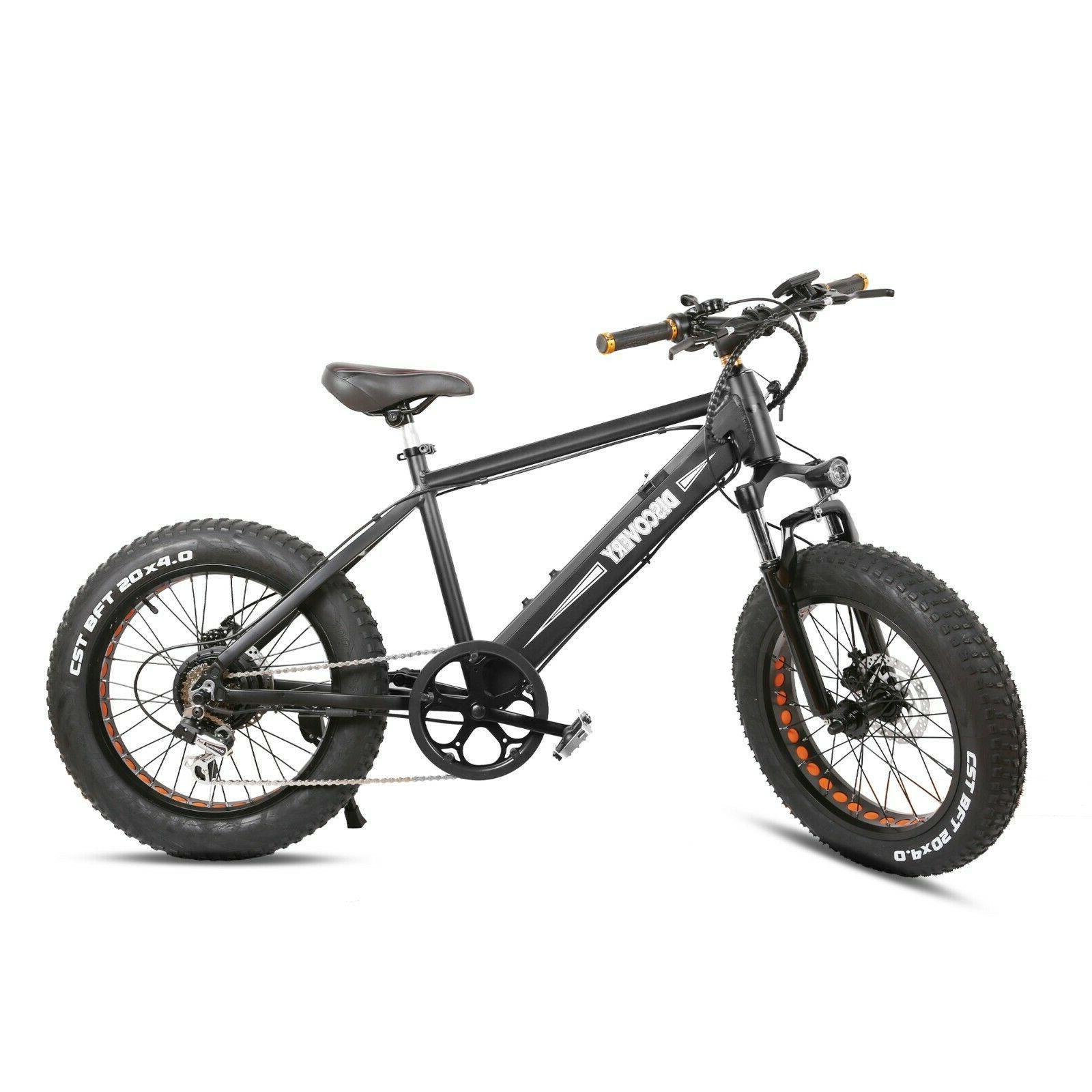 """NAKTO 20"""" Electric E-Bike 48A 6"""
