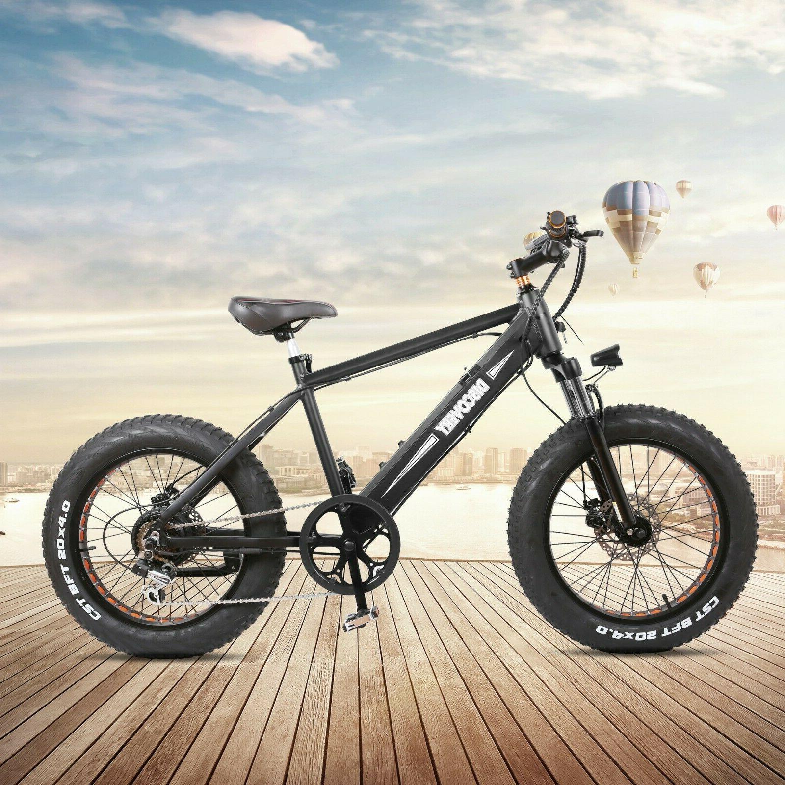 20 fat tire electric bike 300w montain