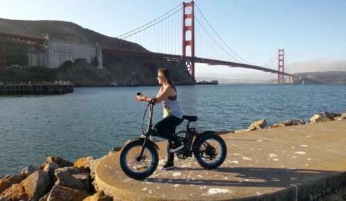 ECOTRIC Folding Tire 500W e E-Bike