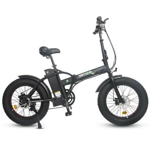 "ECOTRIC 20"" Folding Fat 500W e Bike"