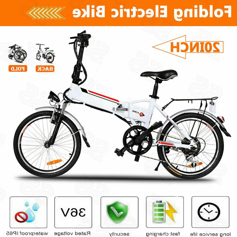 20 inch 250W E-Bike 7 Speed