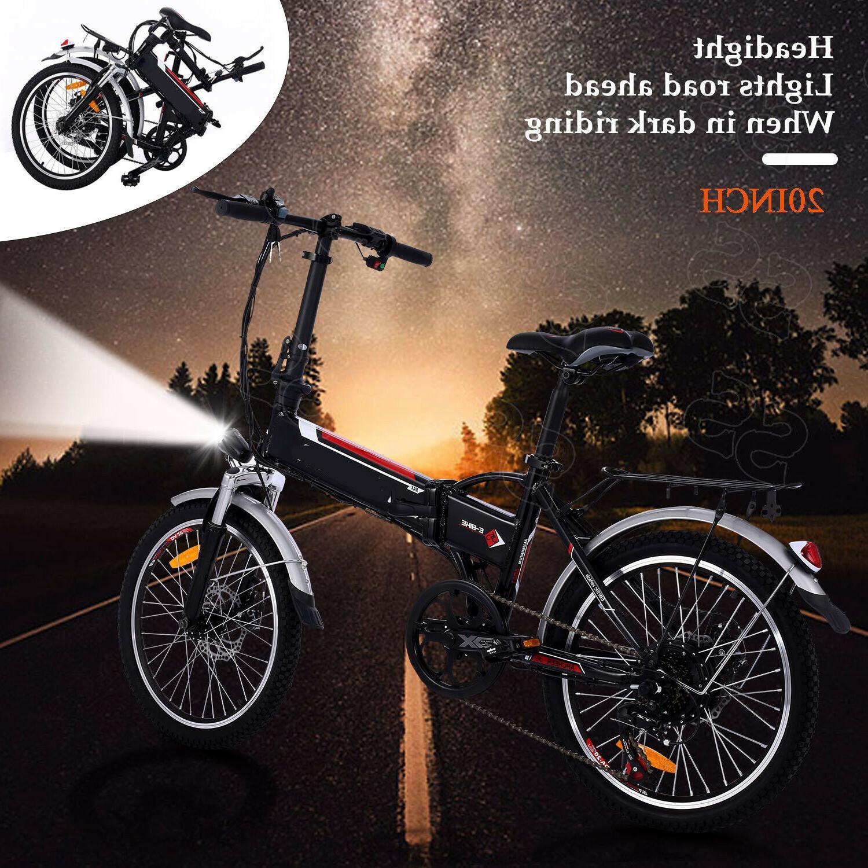20INCH Folding Electric Bike Shimano Mountain Cycling EBike