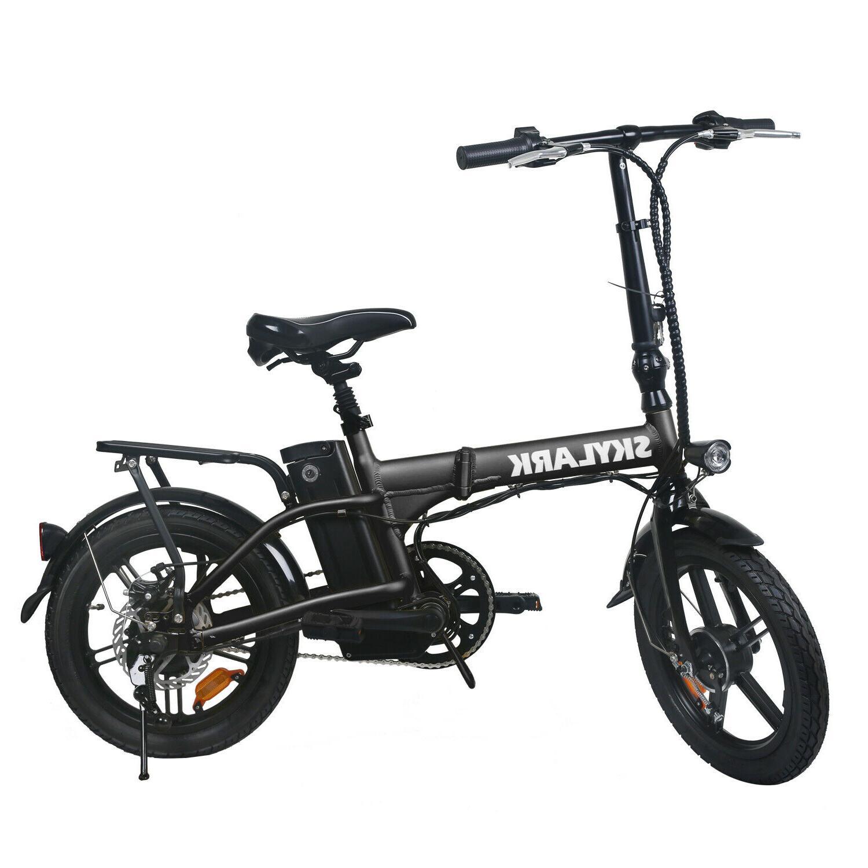 250w folding electric bike 16 36v 10ah