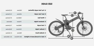 ECOTRIC 1000W 13Ah Mountain Electric E-Bike Bicycle Hydraulic