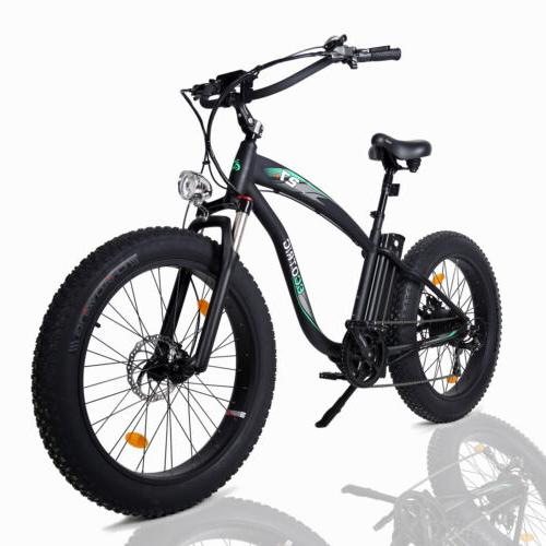 "26"" Electric Bicycle EBike E-Bike Removable"