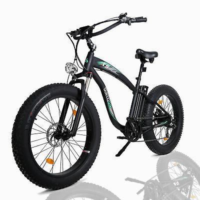 "26"" 1000W 48V Mountain Electric Bike Bicycle E-Bike Removable battery"