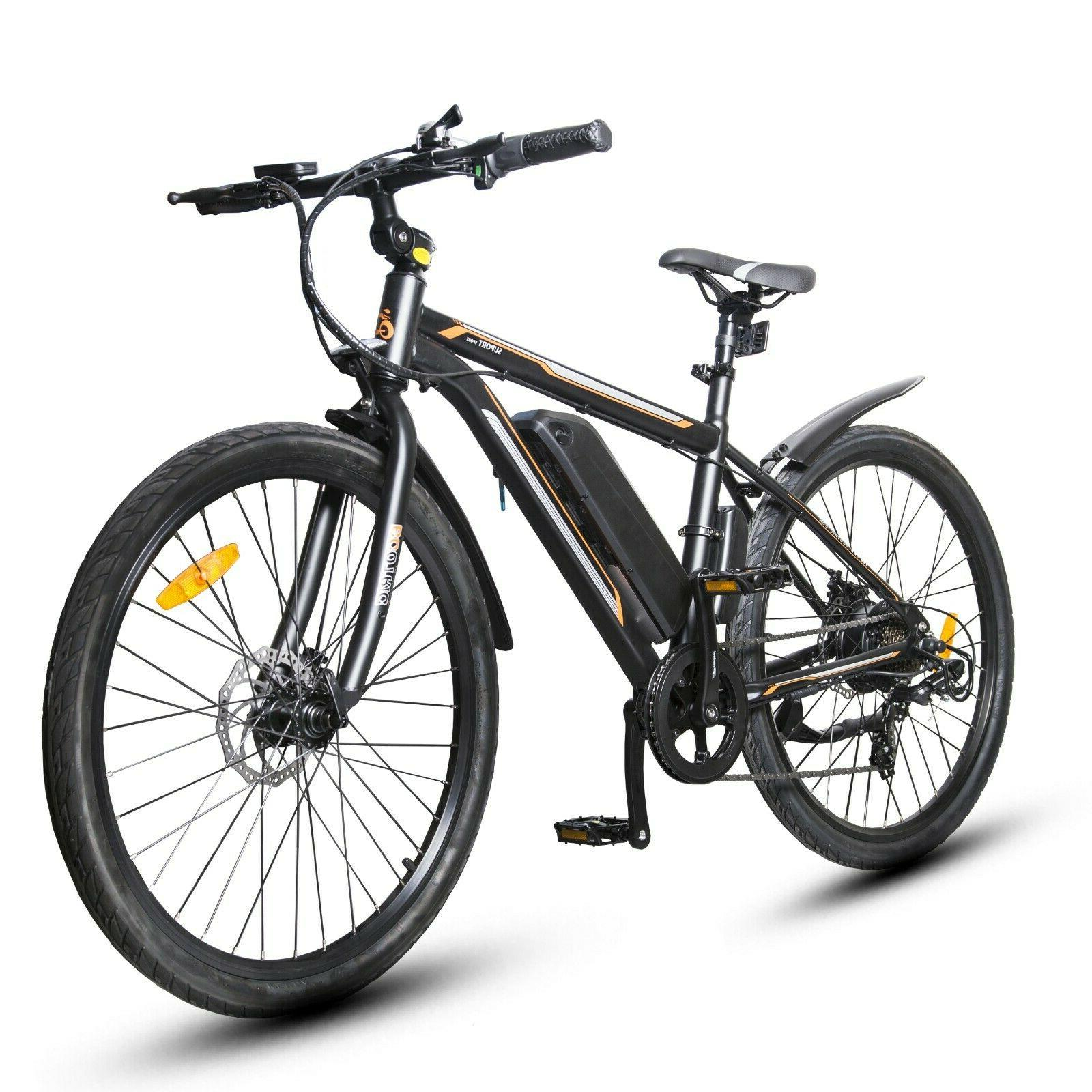 "26"" Bike Beach Mountain w/Removable Lithium Battery"