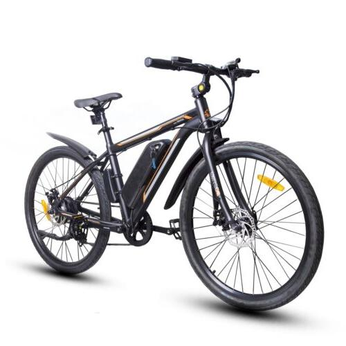 City Bicycle e-Bike Removable Battery 7 Pedal Assist
