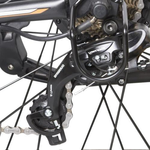 "26"" 36V City e-Bike Battery 7 Speed Pedal Assist"