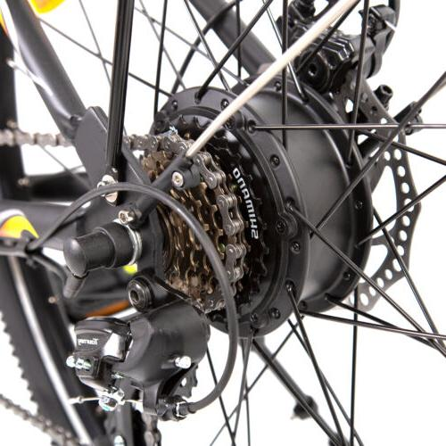"""26""""36V 350W Litium Electric Shimano 7 speed Removable"""