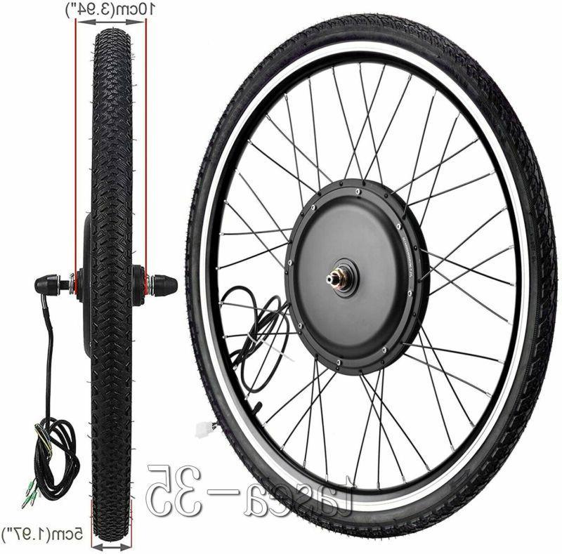 """26"""" Electric Wheel 48V Ebike Hub Kit"""