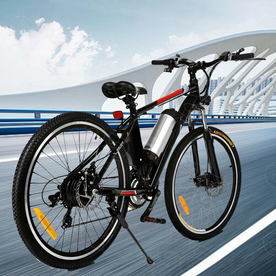 26'' Electric Moutain Bicycle*Folding Cycling Shimano 21Speed A