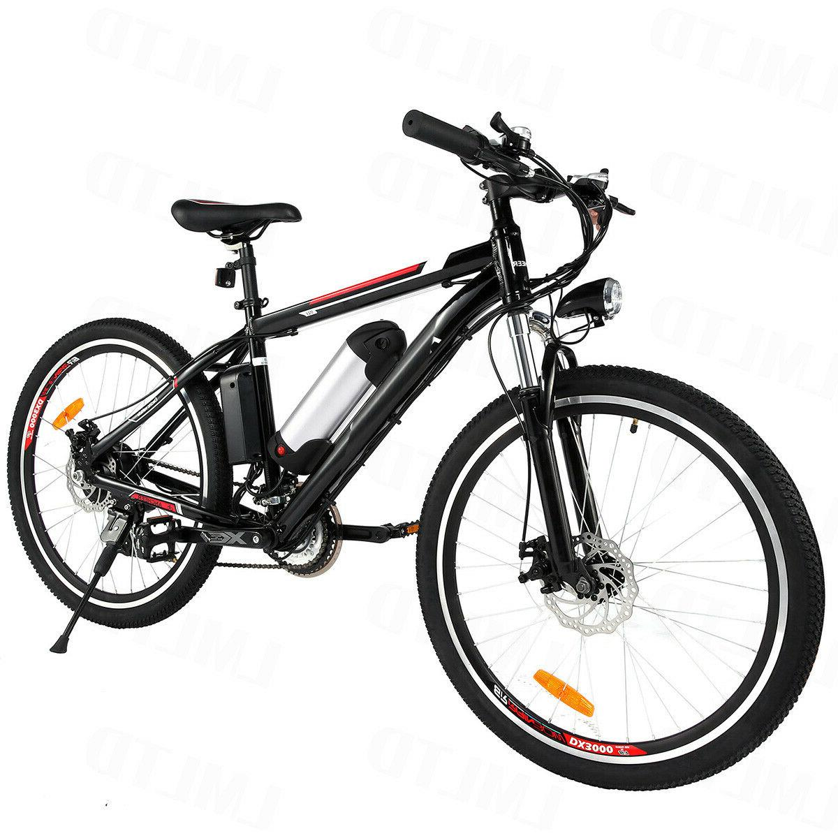 26inch electric bike mountain bicycle ebike shimano