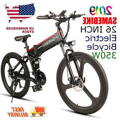 26 folding electric bike assist e bike
