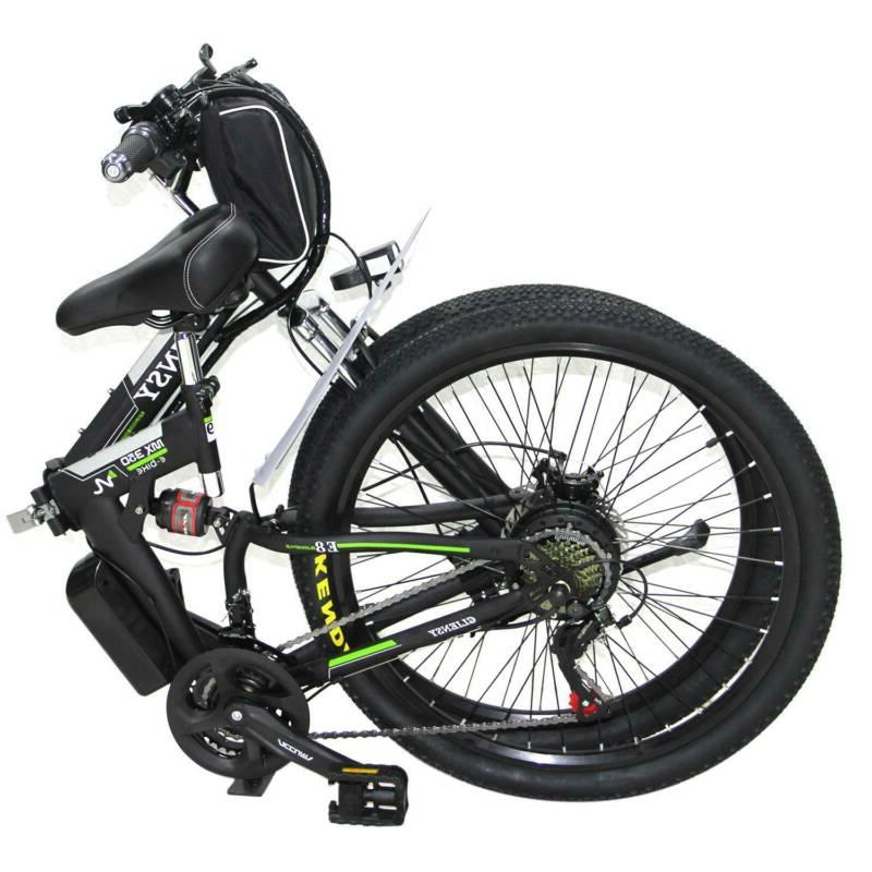 """26"""" Bike City Mountain 350W 36V CLIENSY USA"""