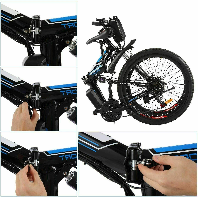 New Bike,8Ah Li-Battery+ Shock-Absorbing