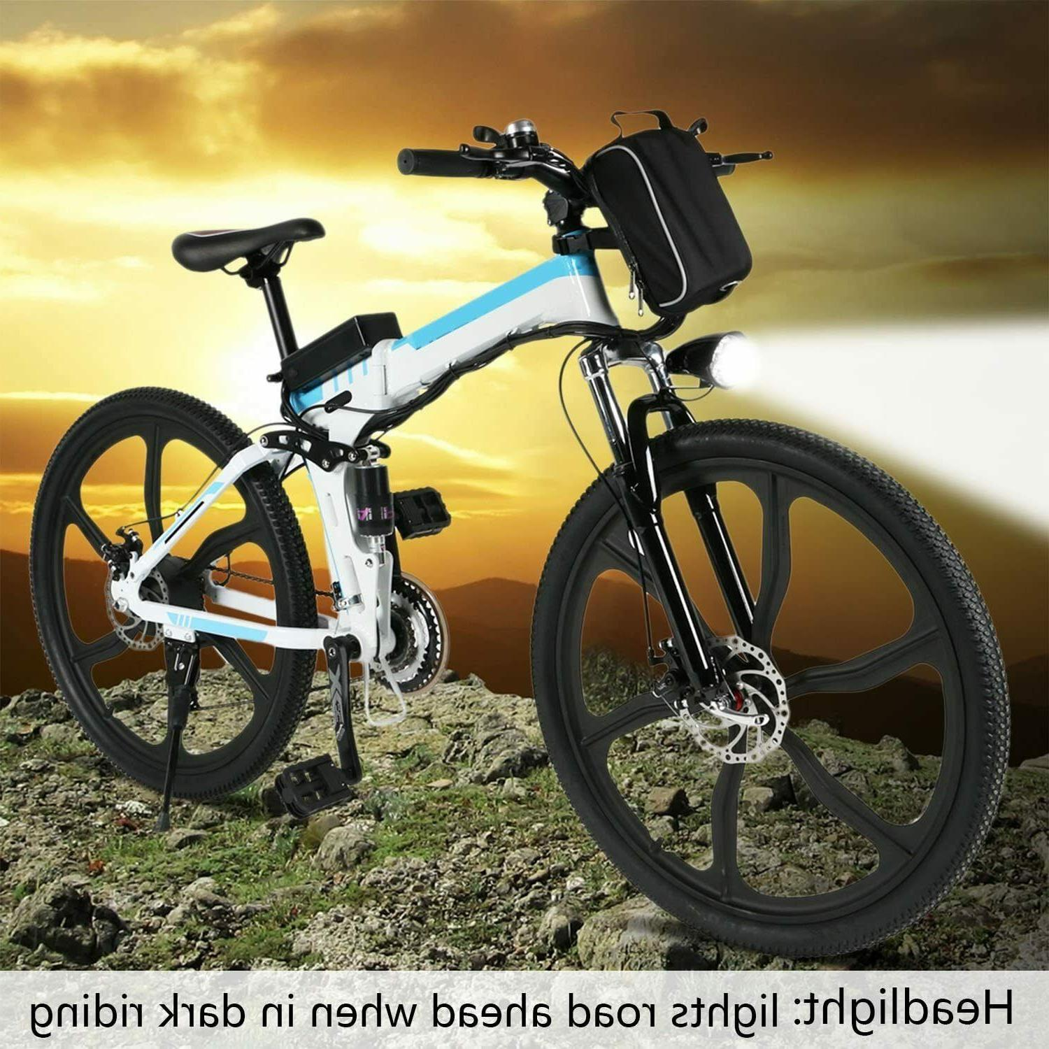 26'' Electric Bike 21 Gears Removable