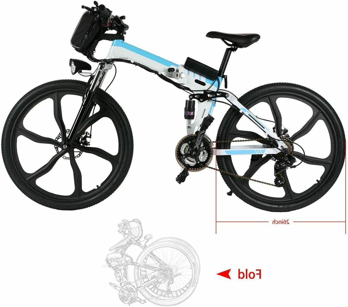 26'' Bike Removable Li-Battery 3-Working Modes